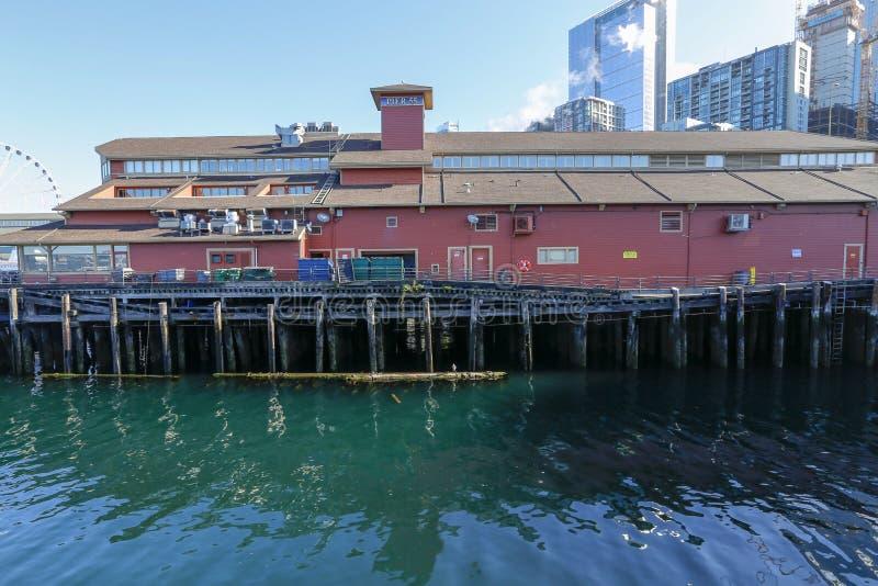 Embarcadero 55, Seattle, Washington, los E.E.U.U. imagen de archivo libre de regalías