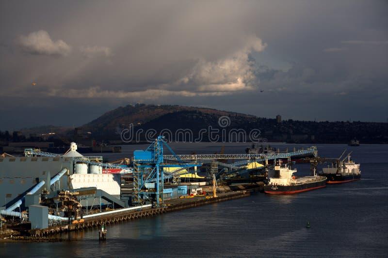 Embarcaderos de Vancouver foto de archivo