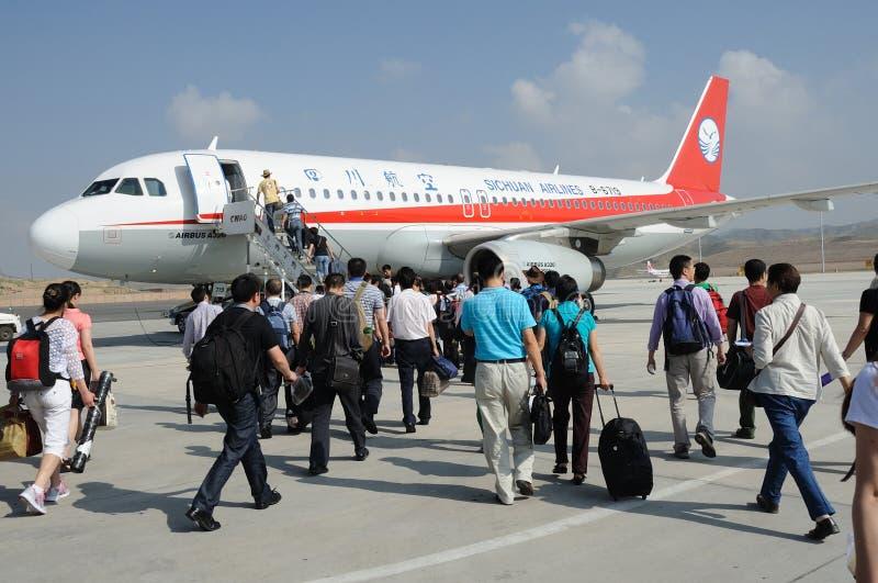 Embarquement de passagers images libres de droits