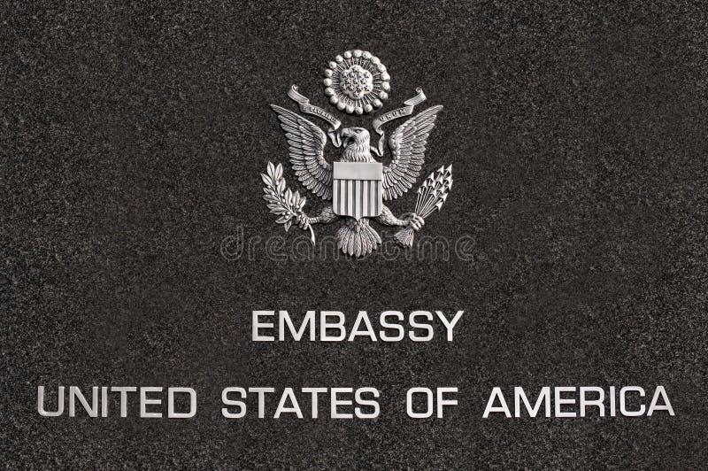 embassy foto de stock royalty free