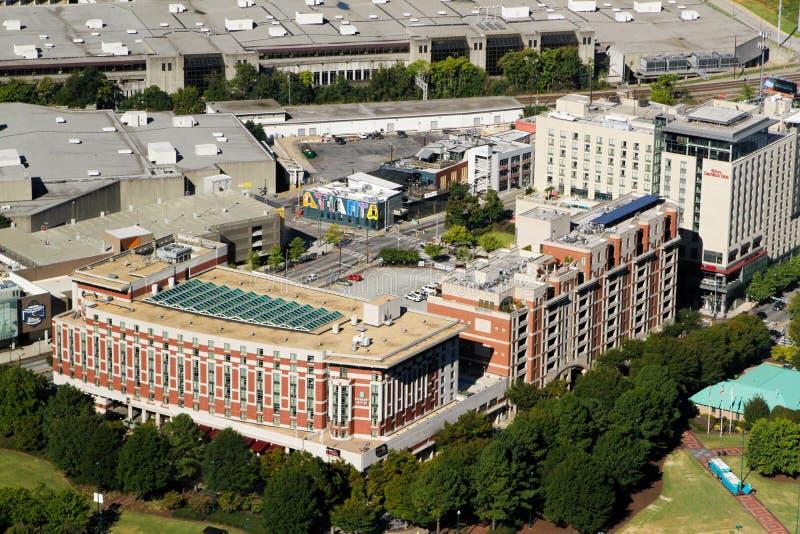 Embassy Suites, Atlanta, GA imagem de stock royalty free