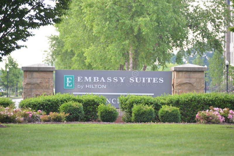 Embassy Suites por Hilton, Murfreesboro, TN imagens de stock