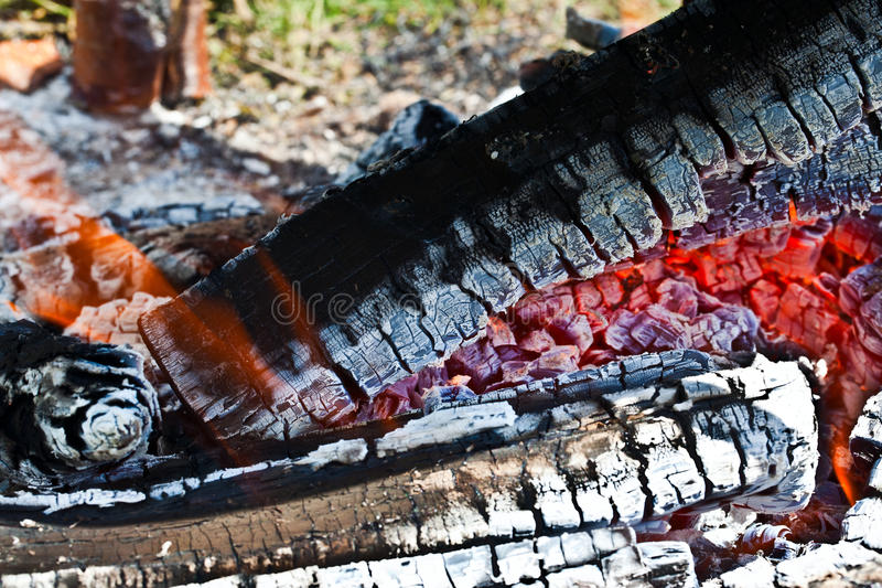 Download Embers stock image. Image of charcoal, outdoor, orange - 26060667
