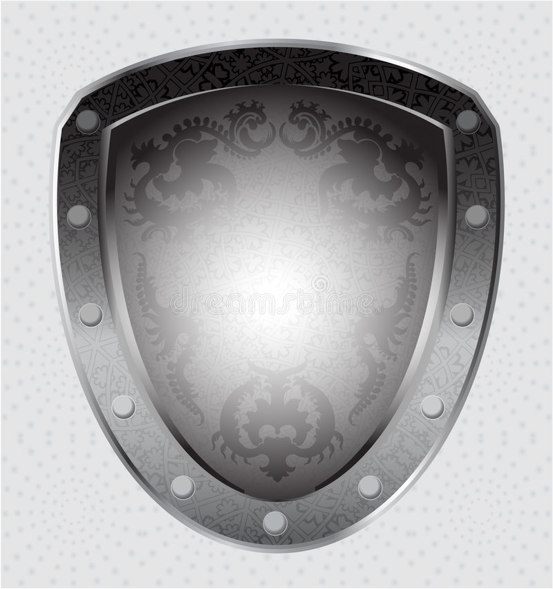 Emblème de Heroldic illustration stock