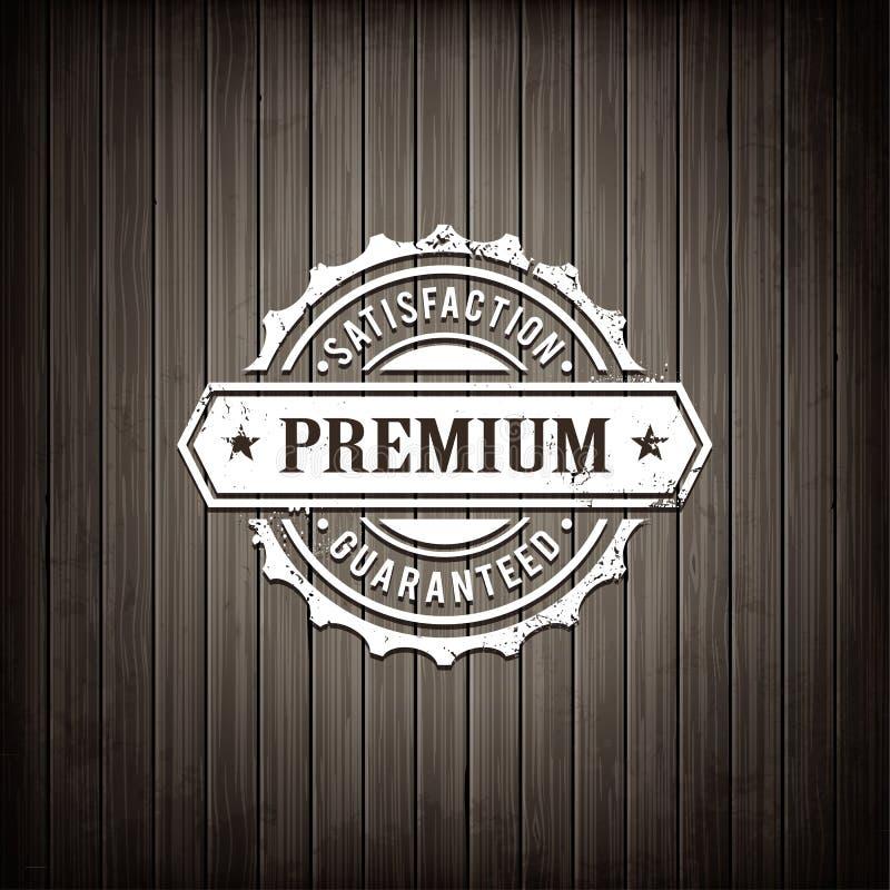 Emblème de la meilleure qualité de qualité illustration de vecteur