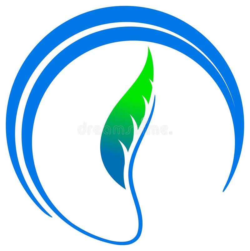 Emblème de lame illustration stock