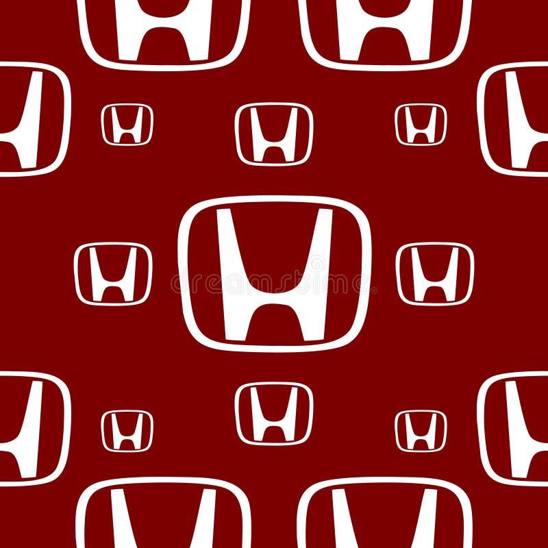 Emblème de voiture de Honda illustration de vecteur