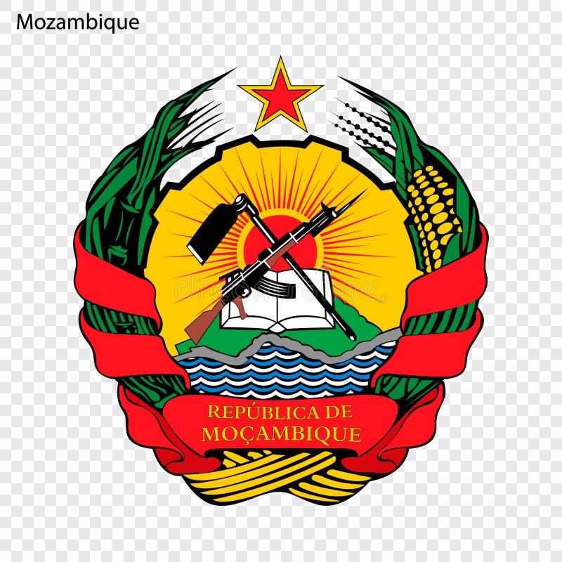 Emblème national ou symbole illustration de vecteur