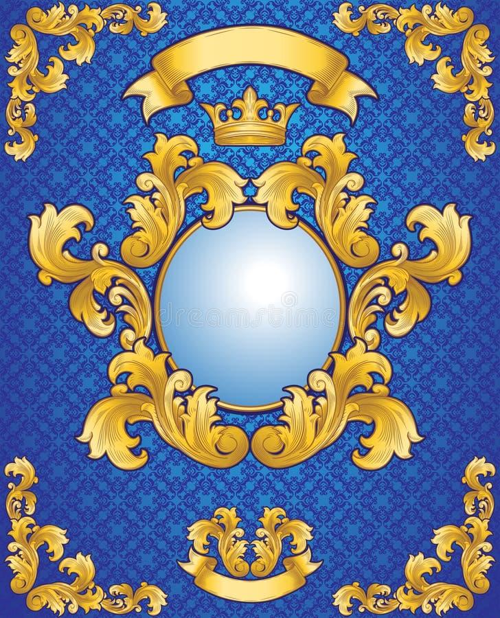 Emblème royal illustration libre de droits