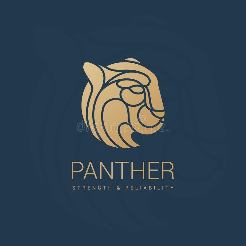 Emblème royal de puma illustration libre de droits