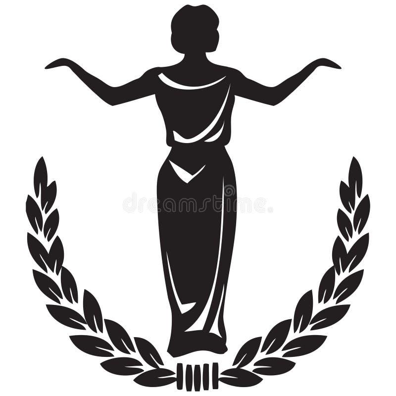 Emblème théâtral illustration libre de droits