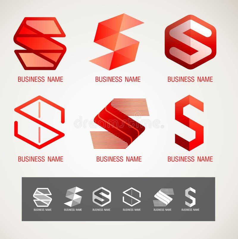 Embleem en Symboolontwerps concept, moderne minimale, vectorillustratie vector illustratie