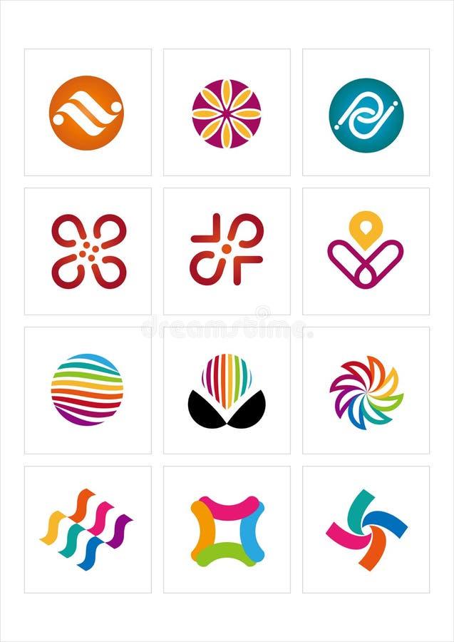 embleem pictogram stock illustratie