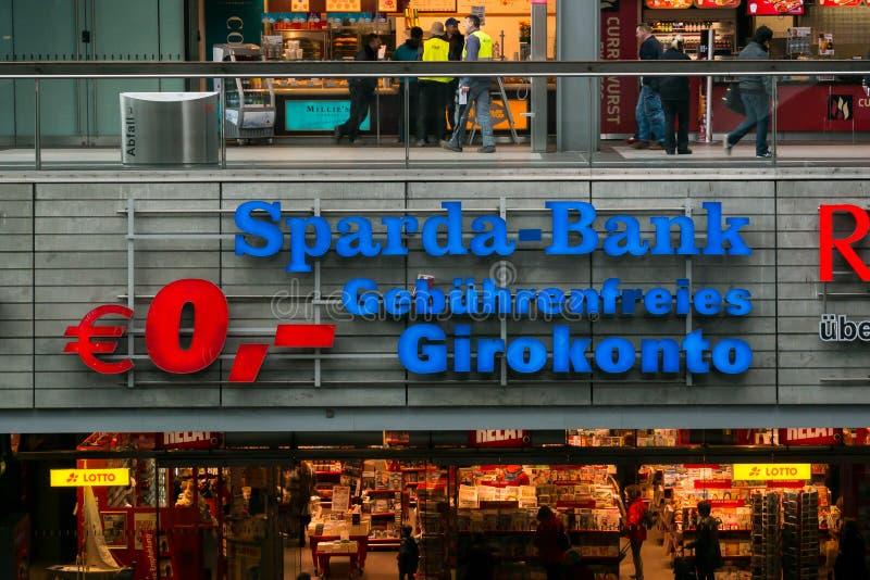 Embleem sparda-Bank stock foto