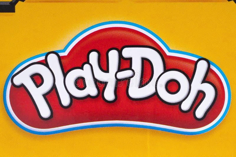Embleem spel-Doh royalty-vrije stock foto's