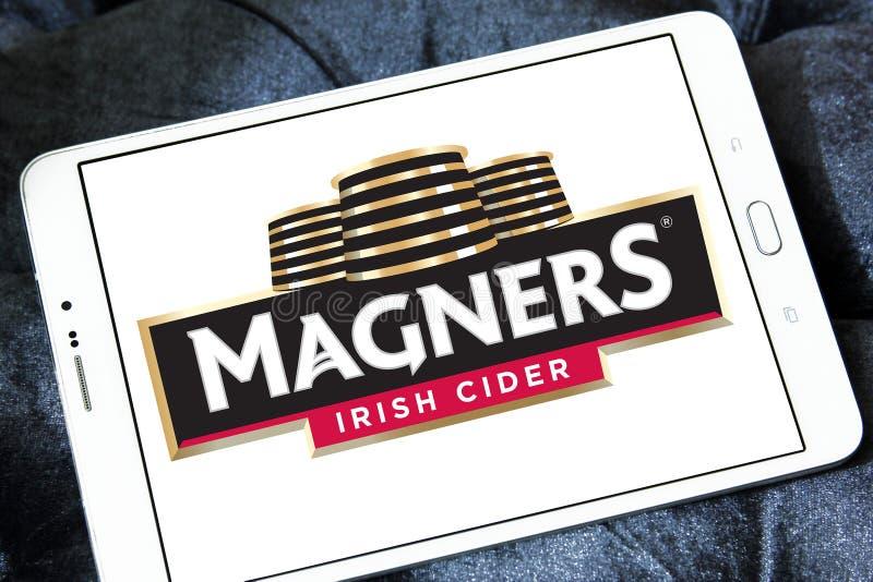 Embleem van de Magners het Ierse Cider stock afbeeldingen