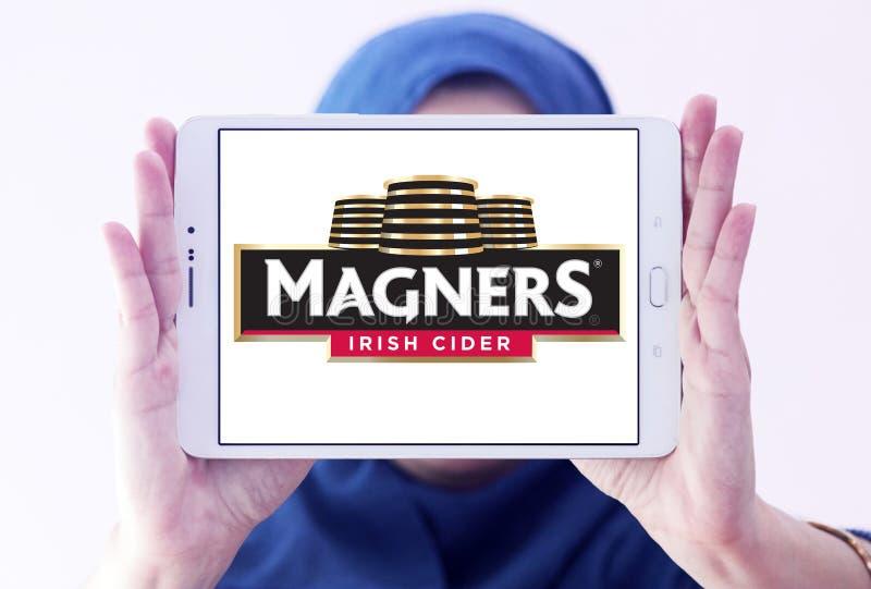 Embleem van de Magners het Ierse Cider stock foto