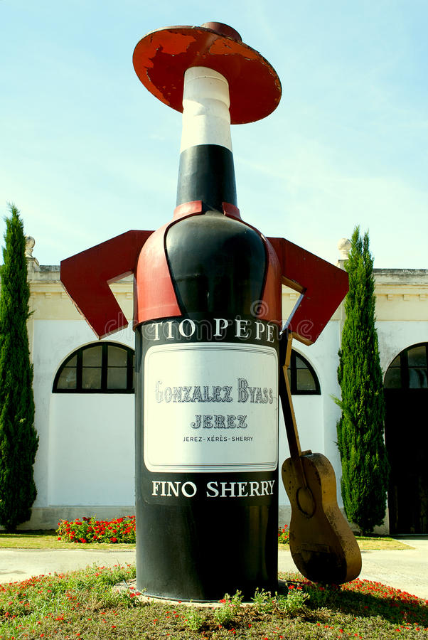 Embleem van de wijnkelder.