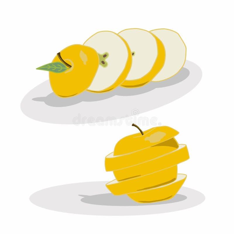 Embleem voor Apple royalty-vrije illustratie