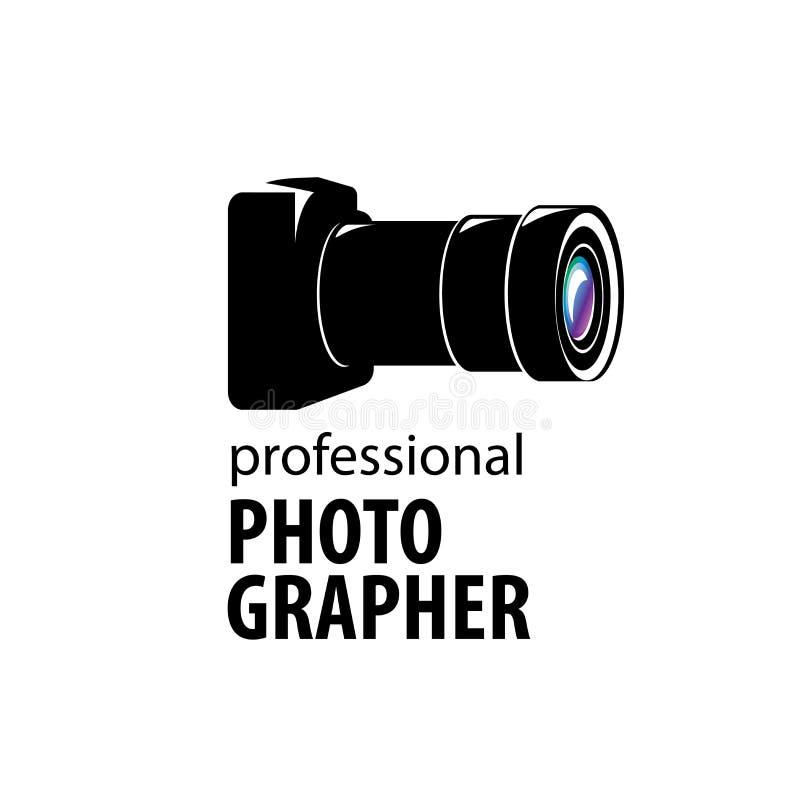 Embleemcamera de fotograaf stock illustratie