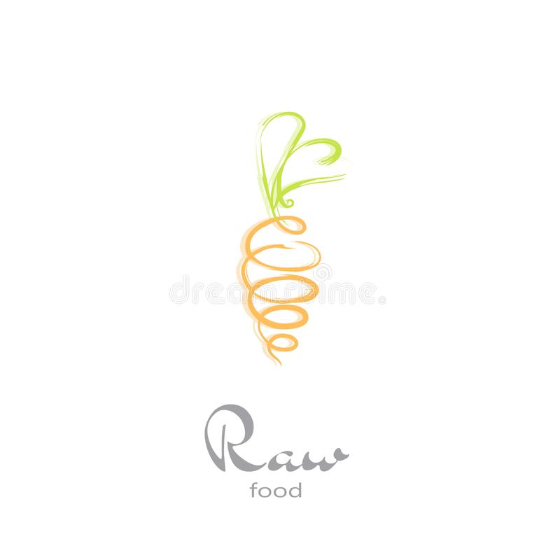 Embleemreeks - Groenten stock foto