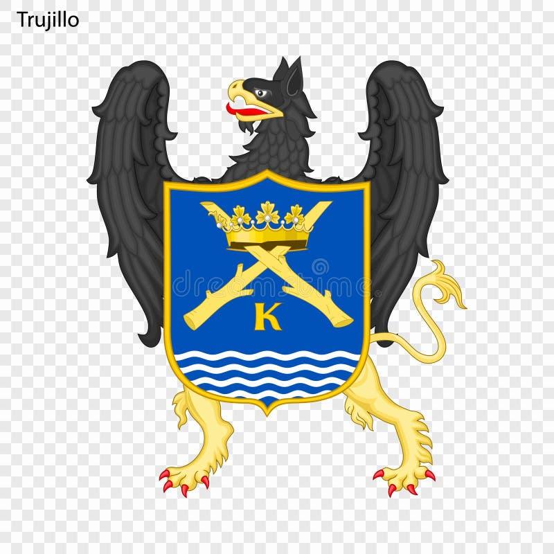 Embleemstad van Peru royalty-vrije illustratie