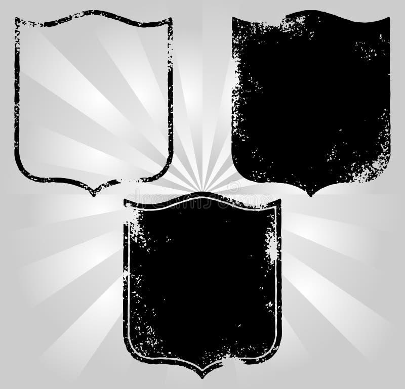 Download Emblem stock vector. Image of heraldic, badge, armour - 10429384
