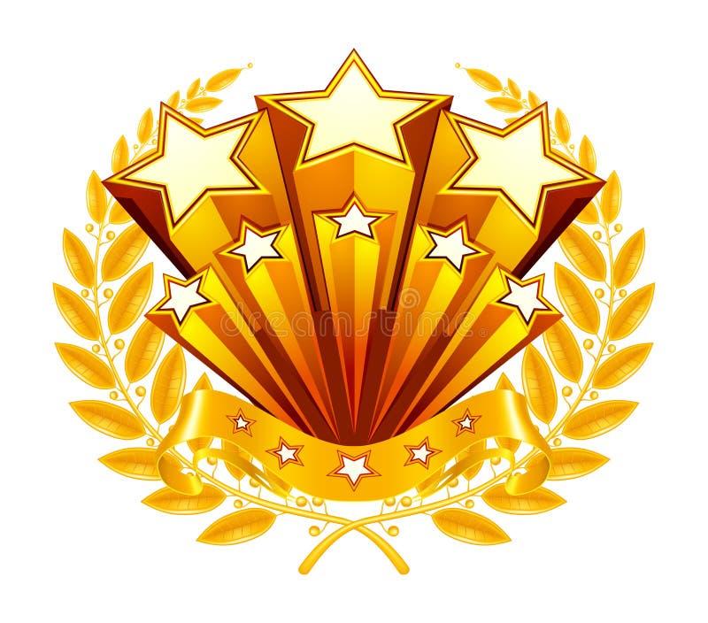 Emblem lizenzfreie abbildung