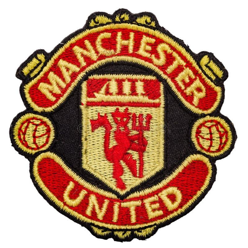 Emblem av fotbollklubban arkivbild