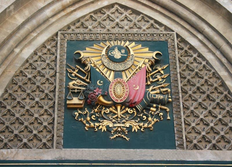 Emblem av ottomanvälde arkivfoto