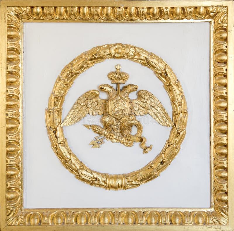 Emblem av rysk federation arkivfoton