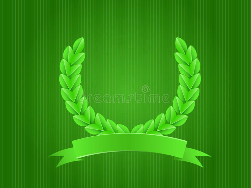 Download Emblem With Branch stock vector. Image of plant, emblem - 21304520