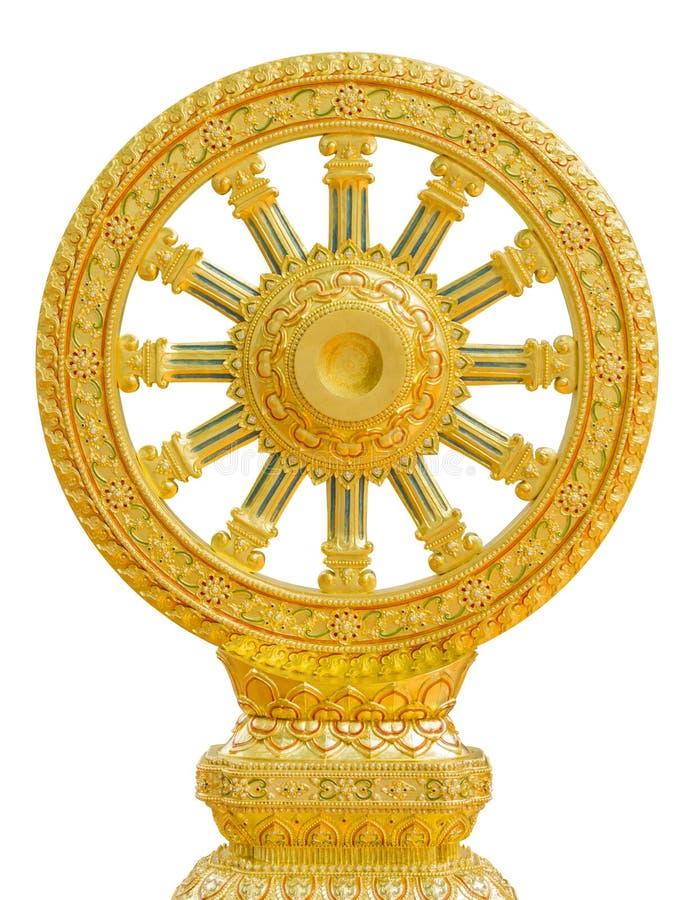 Emblem of Buddhism royalty free stock image