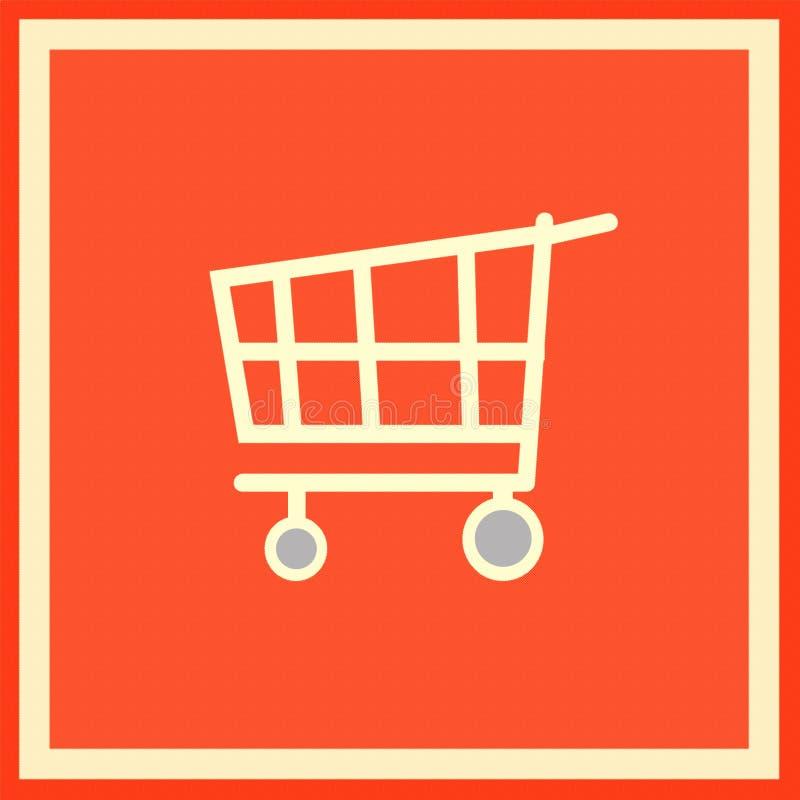 Emblem eines Supermarktes stock abbildung