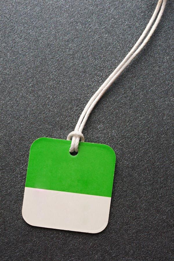 Emblem för tomt papper royaltyfria bilder