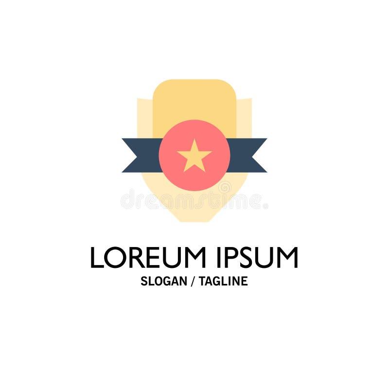 Emblem klubba, emblem, sköld, sportaffär Logo Template plan f?rg royaltyfri illustrationer