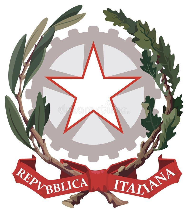Free Emblem Of Italy Vector Royalty Free Stock Photo - 124980195