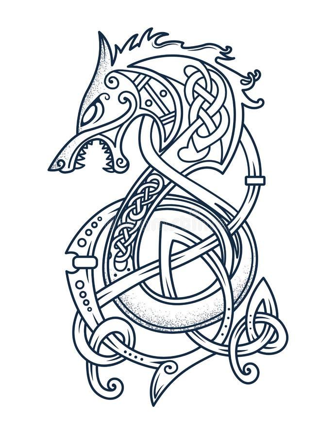 Free Emblem Of The Brave Viking Warriors Royalty Free Stock Image - 187118506