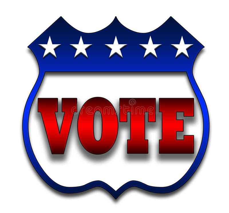emblem röstar stock illustrationer