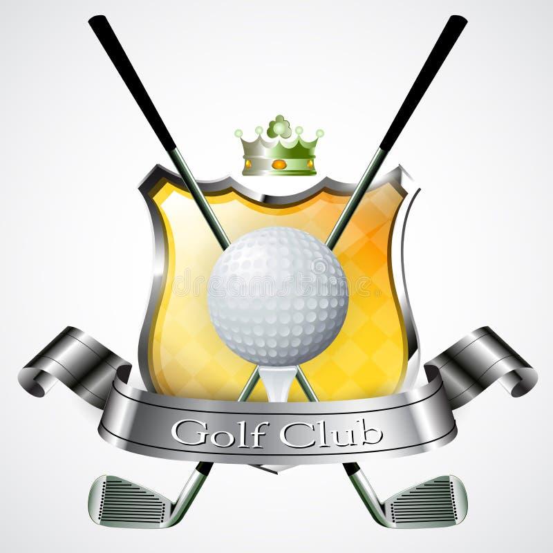 Download Emblem Of Sport Champion Golf Stock Illustration - Image: 25106920