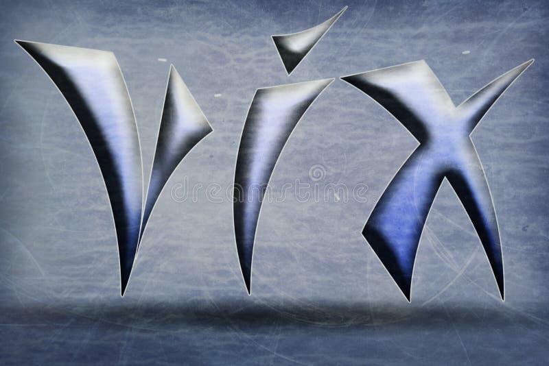 Emblem VIX royalty free stock images