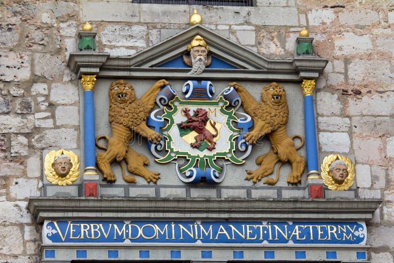 Emblem von Braunschweig stockfoto