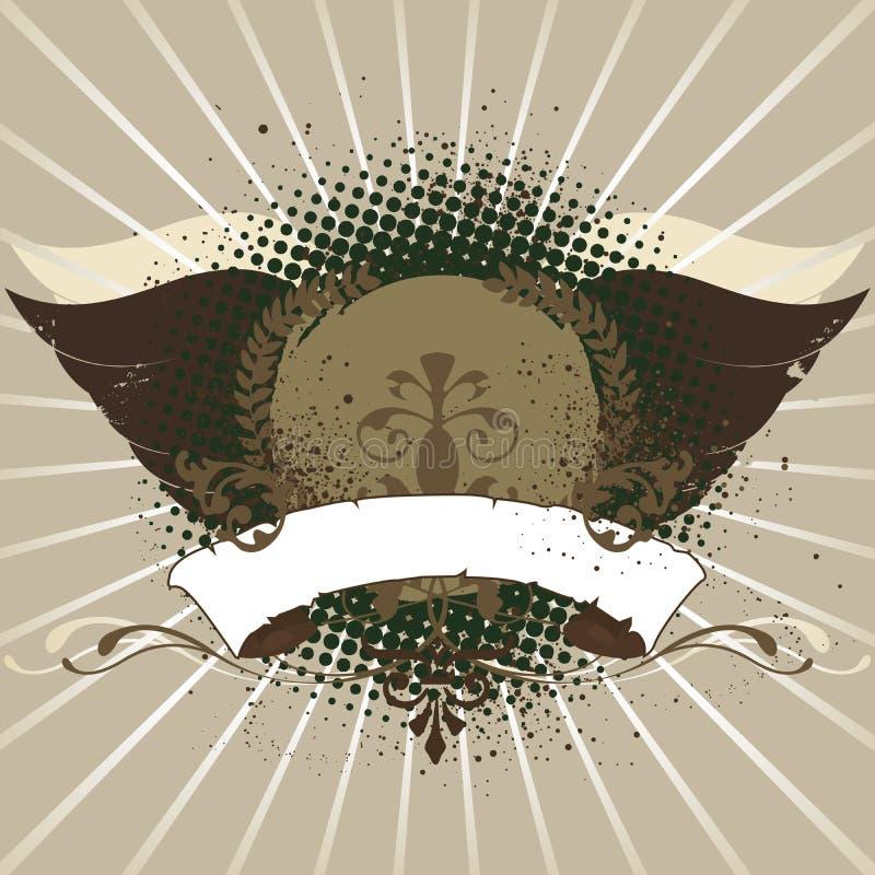 Emblema ilustração stock