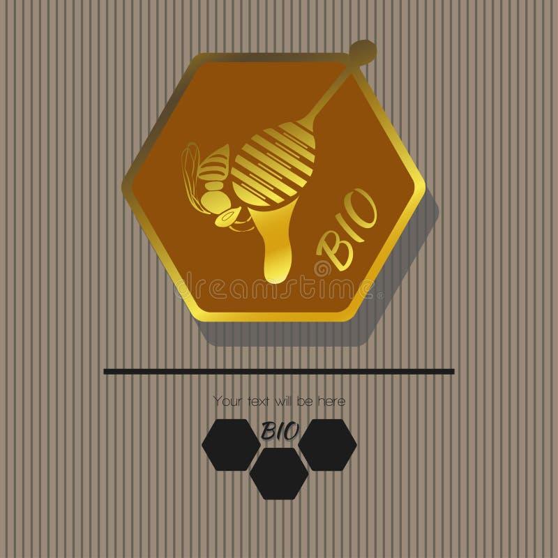 Emblema 6 imagem de stock
