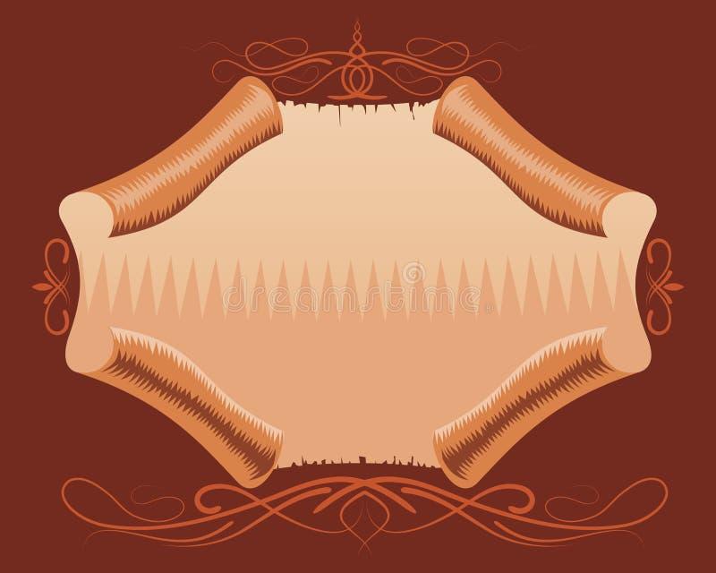 Emblema illustrazione di stock