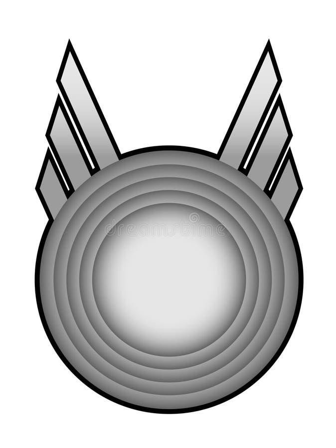 Emblema creativo ilustração royalty free