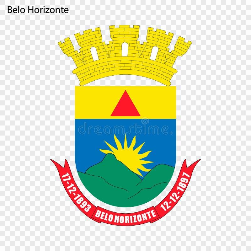 Emblema de Belo Horizonte ilustración del vector