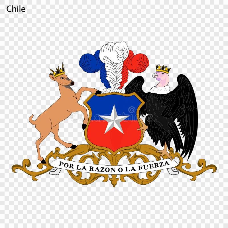 Emblema de Chile libre illustration