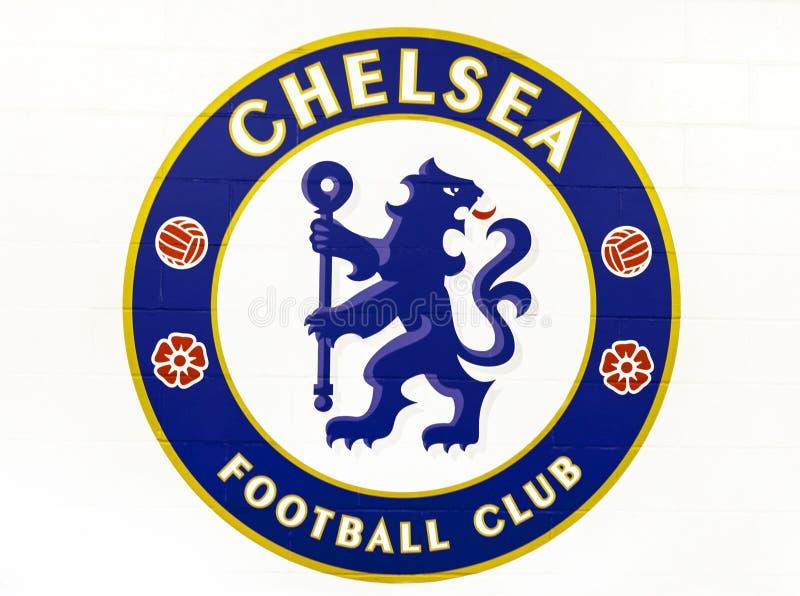 Emblema de FC Chelsea fotografia de stock royalty free