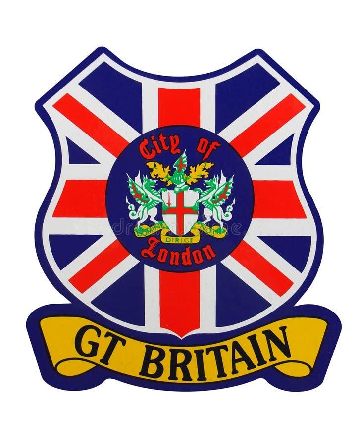 Emblema de Grâ Bretanha ilustração stock